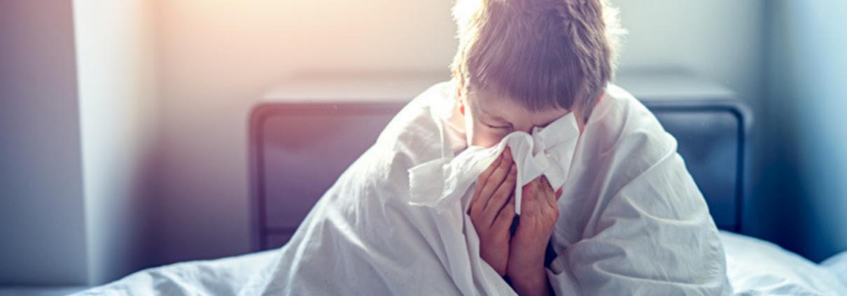 Grippe - malade - enfant