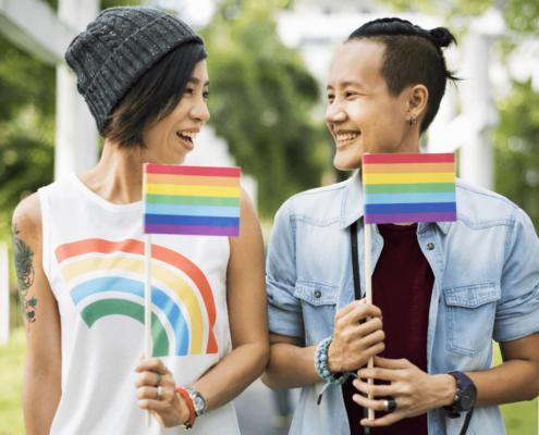 Couple - LGBTQ - bonheur - amour - tolérance