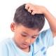 Enfant - poux - cheveux - gratter