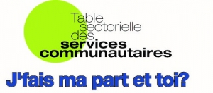 Logo - table sectorielle - services communautaires