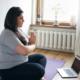Yoga en soirée - cours virtuel