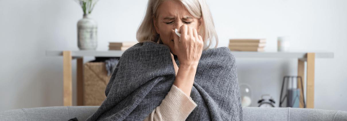 Saison - grippe - aîné