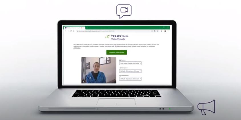 Vidéo - Télus - Rendez-vous - virtuel