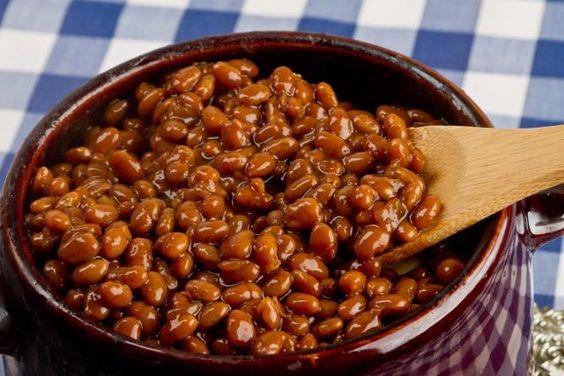 Recette - fèves au lard
